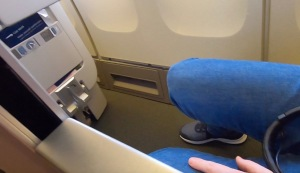 17A Legroom and foot stool