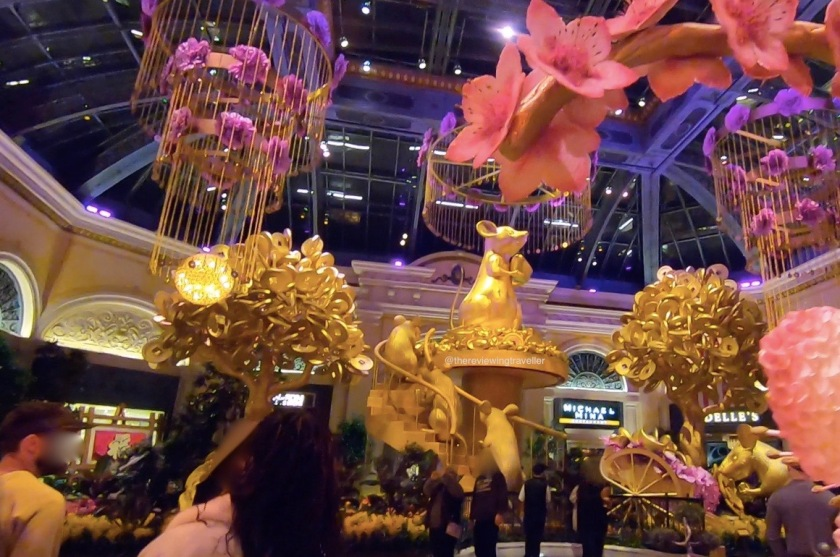 Bellagio New Year decorations
